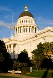 kapitol stanu kalifornii słońca Fotografia Royalty Free