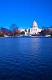 Kapitol und Spiegelteich, Washington DC, USA Stockfotografie