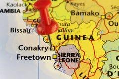 Kapitol von Guinea, Conakry Lizenzfreie Stockfotos