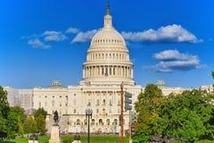 Kapitol Washingtons, USA, Vereinigte Staaten, Ulysses S Grant Memoria stockfotografie
