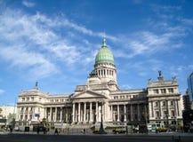 Kapitolium av den Buenos Aires kongressen arkivfoton