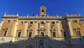 Kapitolium Campidoglio i Rome Royaltyfri Bild