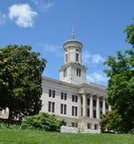Kapitolium en byggnad av Tennessee royaltyfria bilder