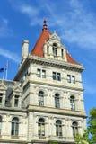 Kapitolium för New York stat, Albany, NY, USA Arkivbilder