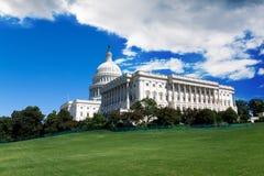 Kapitolium i Washington DC arkivbilder