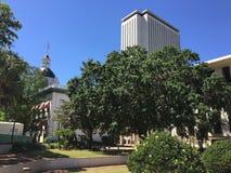 Kapitolium komplexa Tallahassee Florida Royaltyfria Bilder