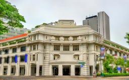Kapitoliumbyggnaden i Singapore Byggt i 1933 Royaltyfria Foton