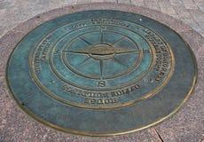 Kapitoliumkompass Royaltyfria Bilder