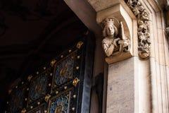 Kapitularny kościół święty Peter & Paul, Praga Obrazy Royalty Free