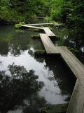 Kapla's Bridge. Brodge in a park in Kanazawa, Japan Royalty Free Stock Image