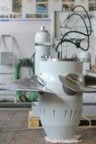 Kaplan turbina Zdjęcie Stock