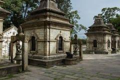 Kaplica świątynny powikłany Pashupatinath Obrazy Stock