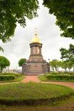 Kaplica Święta trójca w st Petersburg Zdjęcia Royalty Free