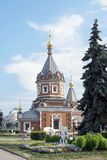 Kaplica Aleksander Nevsky w Yaroslavl, Rosja Obraz Stock
