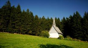 kaplica czarny las Obrazy Royalty Free