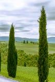 Kaplica Di Vitaleta, Tuscany Fotografia Royalty Free