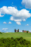 Kaplica Di Vitaleta, Tuscany Zdjęcia Stock