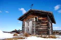 kaplica mały kaplica Lapland Zdjęcia Stock