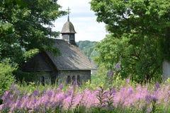 Kaplica Monschau w Niemcy fotografia royalty free
