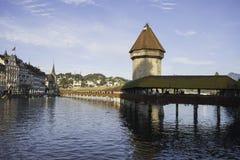 Kaplica most Zdjęcia Royalty Free