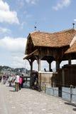 Kaplica most nad rzecznym Reuss Zdjęcie Stock