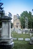 1912 kaplica, Mt Nadzieja cmentarz Zdjęcia Royalty Free