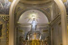 Kaplica Nasz dama Cudowny medal, Paryż, Francja Obraz Royalty Free