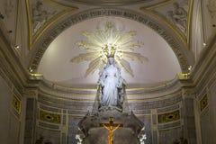 Kaplica Nasz dama Cudowny medal, Paryż, Francja Fotografia Stock