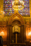 kaplica Paniusia Du Notre pilier Obraz Royalty Free