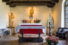 Kaplica przy misją Espada Zdjęcia Stock