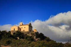 Kaplica przy Notre Damae De Los angeles Serra fotografia royalty free