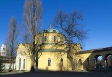 Kaplica sławny Zachodni cmentarz Monachium Obrazy Stock