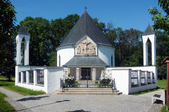 Kaplica St Cyril i Methodius Fotografia Royalty Free