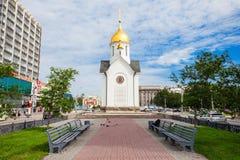 Kaplica St Nicholas Obrazy Royalty Free