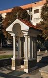Kaplica St Nicholas w Prilep macedonia obraz royalty free