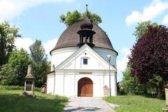 Kaplica St Roch i Sebestian w Fulnek obraz royalty free