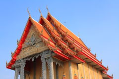 kaplica Thailand Zdjęcia Stock