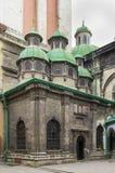 Kaplica Trzy prałata, Lviv fotografia royalty free