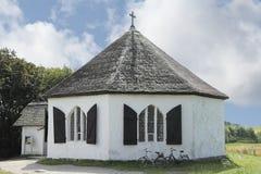 Kaplica Vitt na wyspie Ruegen Zdjęcia Royalty Free