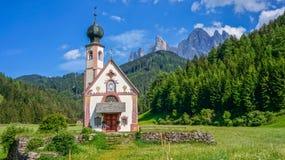 Kaplica w Alps Zdjęcie Stock