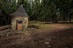 Kaplica w drewnie Obrazy Stock