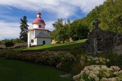 Kaplica w lecie Zdjęcia Royalty Free