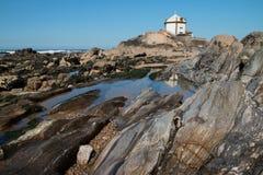 Kaplica w Miramare, Portugalia zdjęcia stock