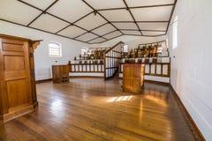 Kaplica w Oddzielny Więźniarski port arthur Zdjęcia Royalty Free