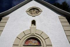 Kaplica w południowym Germany Obrazy Royalty Free