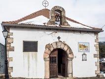 Kaplica w Somosierra, Madryt Zdjęcie Royalty Free