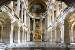 Kaplica w Versaille pałac Zdjęcia Royalty Free