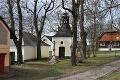 kaplica wiejskiej Zdjęcia Royalty Free