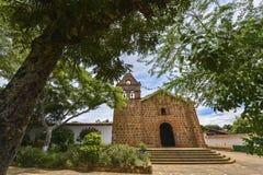Kaplica Wzrastający Jezus w Barichara, Kolumbia zdjęcia stock