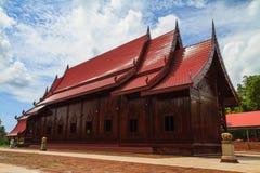 Kaplica zrobił †‹â€ ‹drewniana cukrowa palma Fotografia Stock